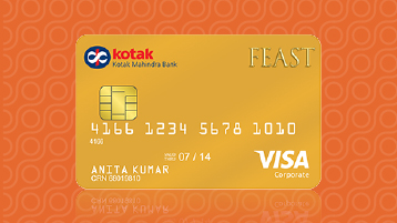Credit Card - Urbane Gold Shopping Credit Card by Kotak