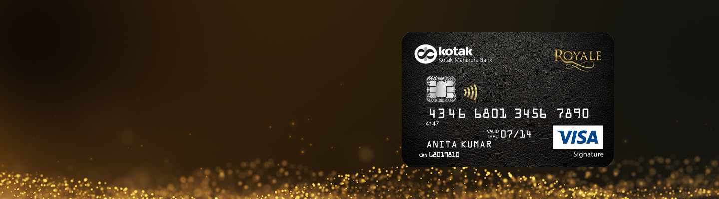Royale Signature Credit Card by Kotak Bank