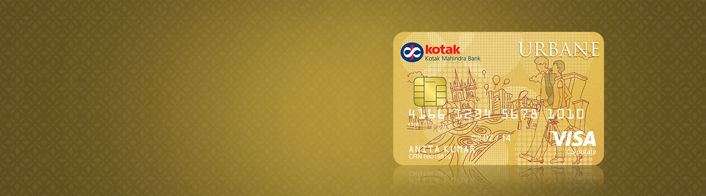 Urbane Gold Credit Card by Kotak Bank