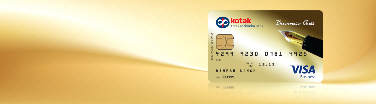 Debit card business class gold debit card from kotak bank business class gold debit card colourmoves
