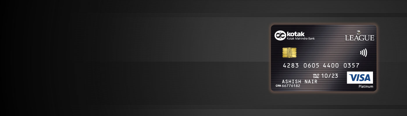 Credit Card - League Platinum Fuel Credit Card by Kotak Bank