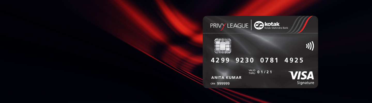 Debit Card - Privy League Signature Debit Card - Kotak Mahindra Bank