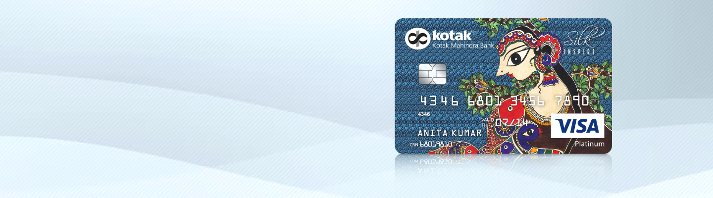 Apply for Silk Inspired Credit Card from Kotak Bank