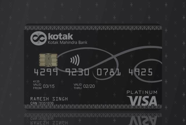 Debit Card - Platinum Debit Card from Kotak Bank