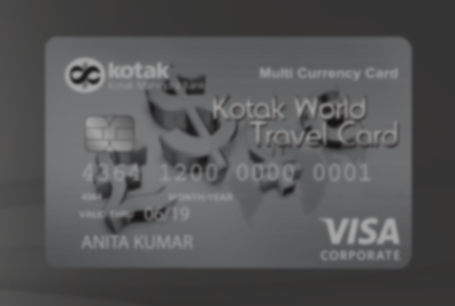 Forex Card by Kotak Mahindra Bank